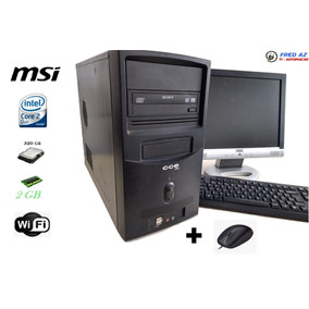 Computador Completo Msi Intel 2gb 320hd C/monitor
