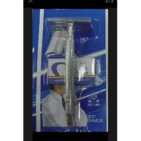 Base Metalica Porta Hojilla Para Afeitadora No Desechable