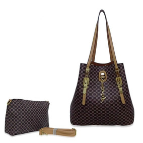 Kit Bolsa Shopping Bag Feminina + Transversal Menor Barata