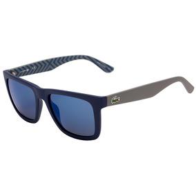 Lacoste L 750s - Óculos De Sol 421 Azul E Cinza Fosco  Azul 99b1911986