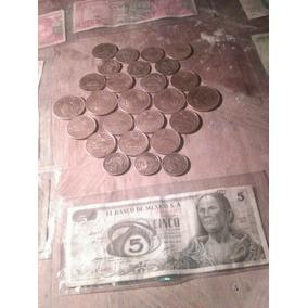 Monedas Y Billetes De Mexico Antiguos