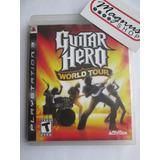 Guitar Hero World Tour Playstation 3 Ps3 Envio Gratis Usado
