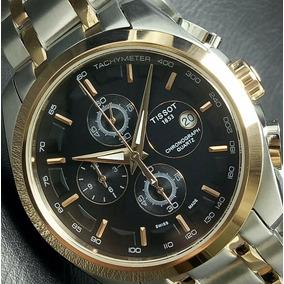 Relógio Tissot Suiço Com Cronógrafo - T032527a