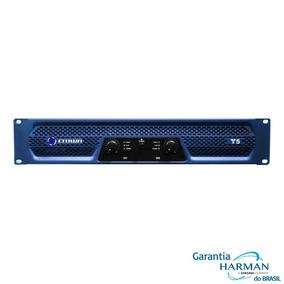 Amplificador Potência Crown T5 - 2 X 750 Wrms (220v)