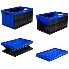Caixa Dobrável Organizadora Para Porta Malas De Carros 62l
