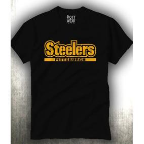 Playera Steelers Pittsburgh Hombre Rott Wear Envio Gratis