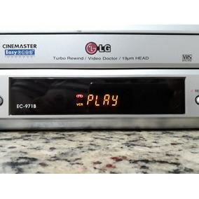 Video Cassete Lg Ec-971b Funciona Ok Com Controle Remoto