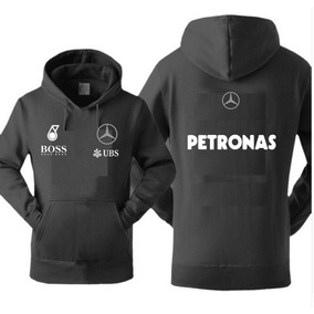 8377761ea9 Blusa Moleton Canguru Mercedes-benz Corrida F-1 Estampado