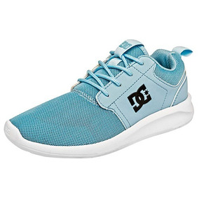 Tenis Dc Shoes Midway K88669 Talla 22.5-25.5 Niña Sc