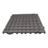 Pallet - Palete Estrado Plástico Preto 50x50 Cm Modular