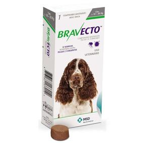 Antipulgas E Carrapatos Bravecto Cães De 10 A 20 Kg - 500 Mg