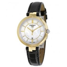 c0ca692050c Relógio Tissot Feminino Flamingo Madre Pérola Branco dourado. R  2.499