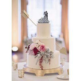 Topo De Bolo Arabesco Casamento Simples E Delicado 69da3cd2c6877