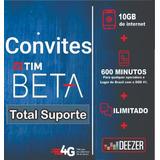 Tim Beta Convite Ou Migração Beta Até 35gb E 2000min