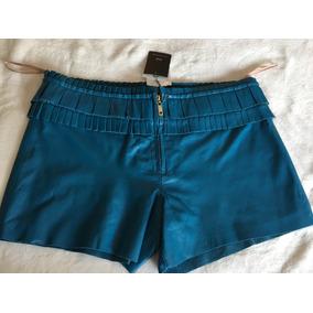 Shorts 100% Couro Clé Original Tam 40