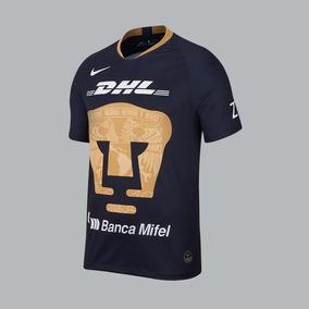 Jersey Pumas Hombre Nike Color Marino oro Poliester Nx247 A 11510a3f68f