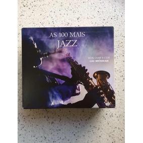 Box Cd As 100 Mais Jazz 5 Cds Novo