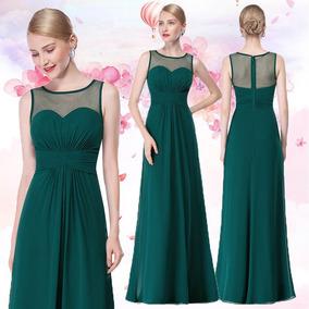 3ba051849a Vestidos Largos Brillantes - Ropa y Accesorios Verde en Mercado ...