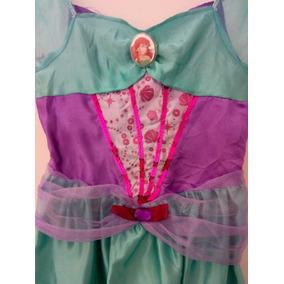 Hermoso Disfraz Princesa Sirenita Talla 4 Mod S32