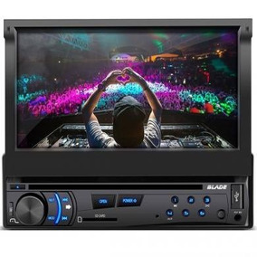 Dvd Player Automotivo Multilaser Blade P3295 Tela 7 Retratil