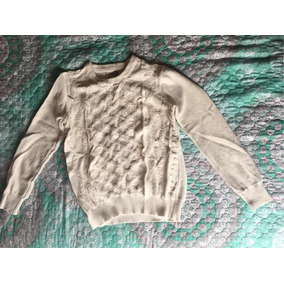 Suéter Blanco Forever 21 Talla M