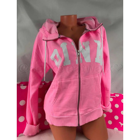 Victorias Secret Olivos Hoodie Pink Medium