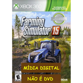 Farmin Simulator 2015 Midia Digital Xbox 360