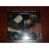 Anthrax Public Enemy Indians Bootleg En Vivo Rareza