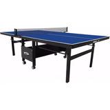 Mesa De Ping Pong Tenis Mesa Klopf 1084 Mdf 18mm Dobrável