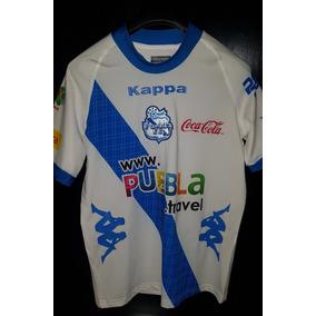 Jersey Puebla Local Kappa Version Jugador Alustiza Chico 5cfae04401d11