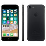 iPhone 7 Preto Tela 4,7 4g 32 Gb Câmera 12 Vitrine - Barato