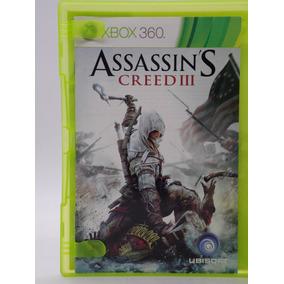 Assassins Creed 3 Xbox 360 Original Mídia Física