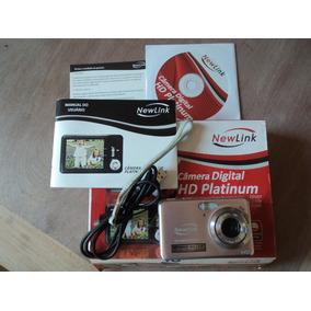 Camera Fotografica Digital Newlink Hd Platinum Rosa Cd109