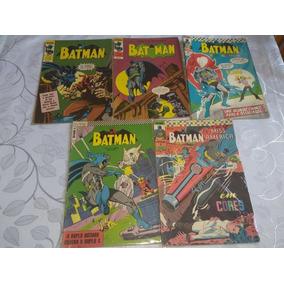 10 Revistas Ebal Batman E Flash Anos 60/70 Frete Grátis