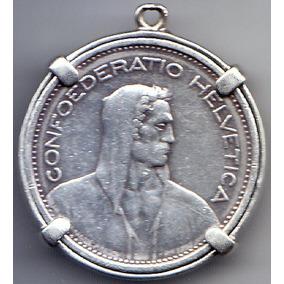 Suiza. Confederación Helvética. 5 Francos. Plata.