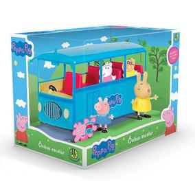 Peppa Pig Onibus Escolar Dtc 4606
