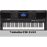 Piano Yamaha Psr-e453 Usb.