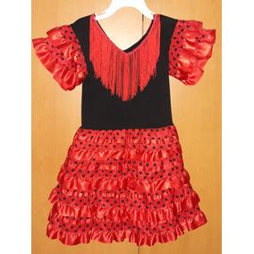 Disfraz Completo Niña Bailaora Flamenco. Vestido Y Zapatos. Bs. 75.000 44412cdb4c7