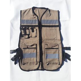 Chaleco De Seguridad Industrial, Brigadista, Reflejante Cf