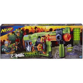 Lança Dardos Nerf - Hasbro Doominator Zombiestrike B1533