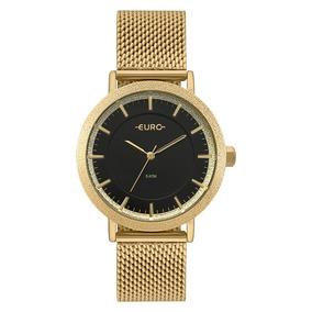 Relógio Euro Feminino Dourado Analógico Eu2039jm/4p