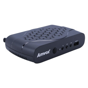 Receptor Conversor Digital Amvox Acd311 Full Hd Usb Hdmi