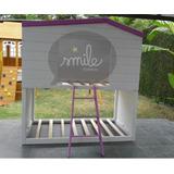 Cama Infantil Individual Montessori.- Drawer