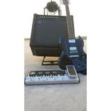 Combo Guitarra Pedalera Amplificador Cables