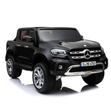 Carro A Bateria Para Niños Mercedes Benz Pick Up + 4 Motores