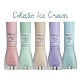 Kit 05 Esmaltes Dailus / California Ice Cream /cores /vegano
