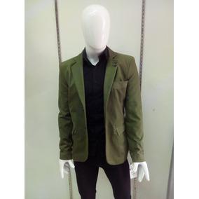 Saco Para Caballero Color Verde