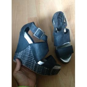 Zapatos Tacones Plataformas Bke Sole Street Mayan Negros!!
