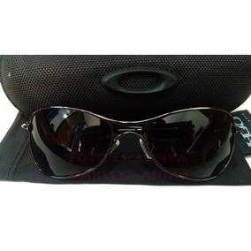 d51d90e6f Lentes Escuras Oakley Crosshair Grafite Simbolo Vermelho - Óculos no ...