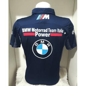 12fac162a167c Camisa Bmw - Pólos Manga Curta Azul no Mercado Livre Brasil